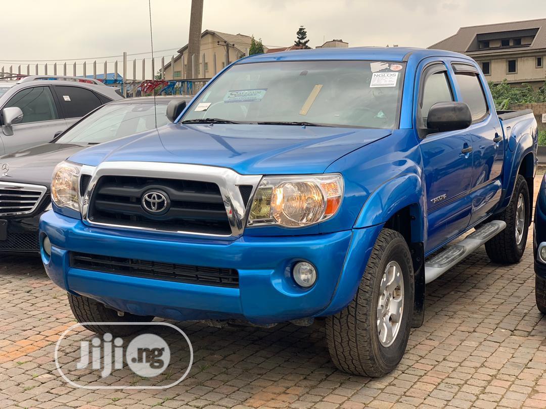 Toyota Tacoma Access Cab 2006 Blue | Cars for sale in Ikeja, Lagos State, Nigeria