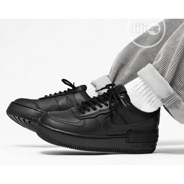 AIRFORCE 1 Shadow All Black -Nike J11 | Shoes for sale in Alimosho, Lagos State, Nigeria