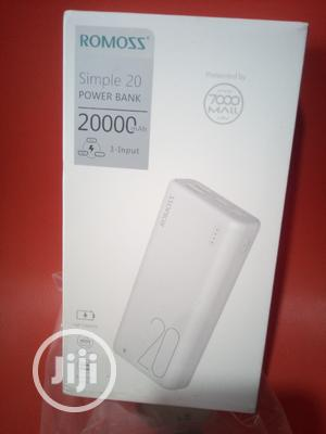 Power Bank Romoss 20000mah | Accessories for Mobile Phones & Tablets for sale in Lagos State, Ajah