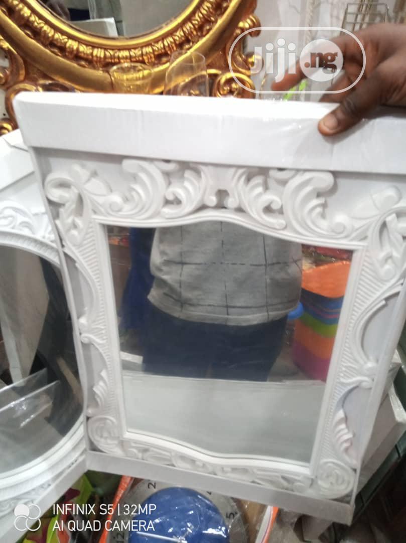 Beautiful White Mirror