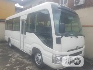 Toyota Coaster 2020 White Fuel   Buses & Microbuses for sale in Lagos State, Surulere
