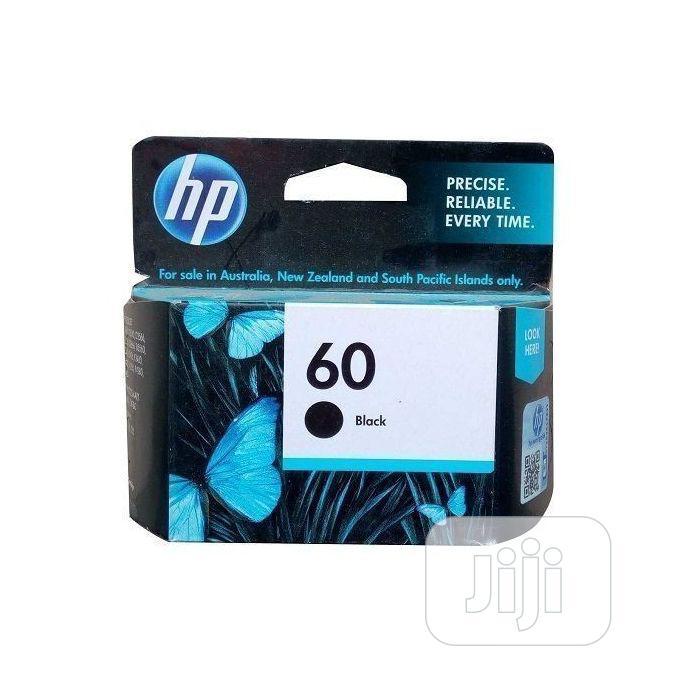 HP Ink Cartridge 60 Black Original -a11