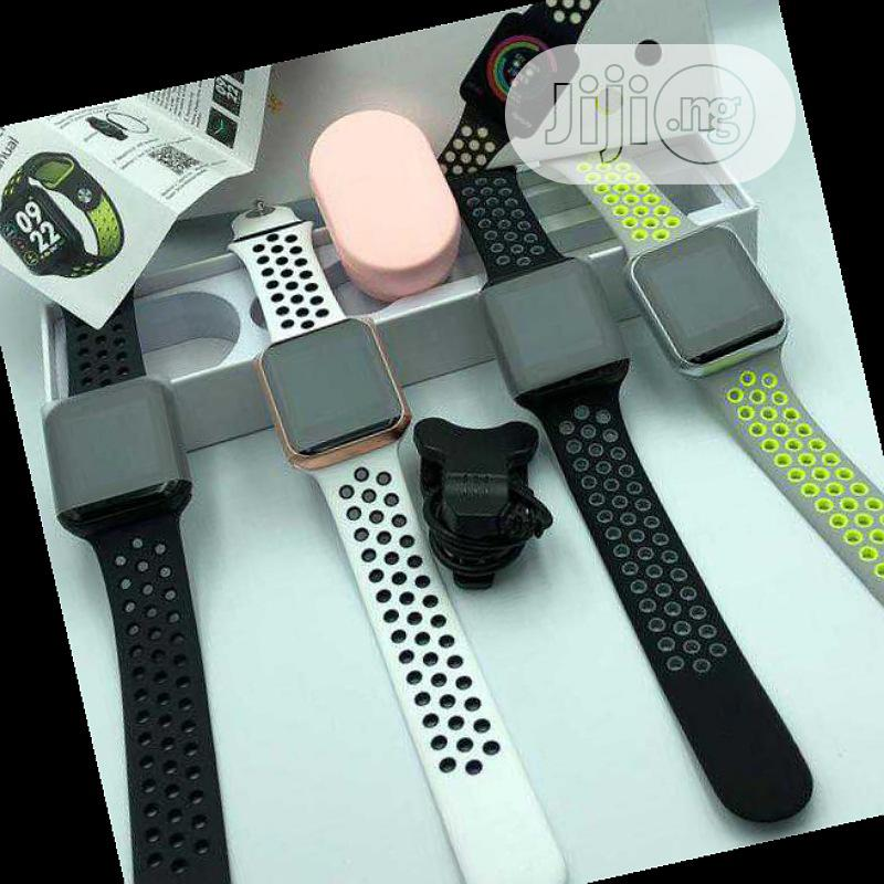 F8 Smartwatch Ip67 Water Proof Heart | Smart Watches & Trackers for sale in Ikeja, Lagos State, Nigeria