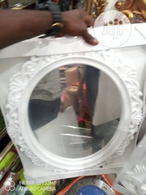 Quality Beautiful White Circle Mirror | Home Accessories for sale in Lagos State, Lagos Island (Eko)