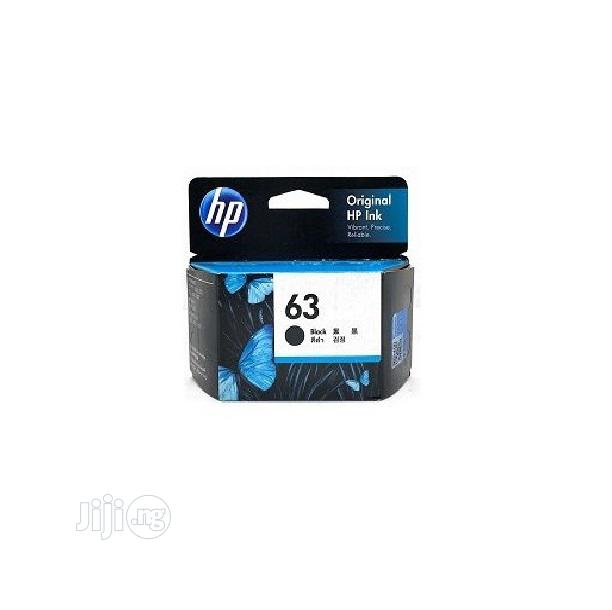 HP Ink Cartridge 63 Black Original -a11