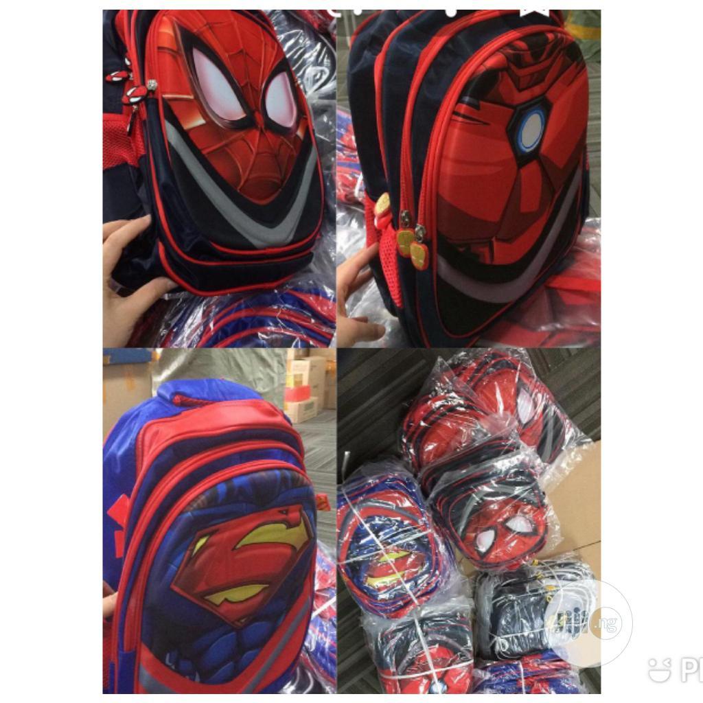 Archive: Spider Man School Bag