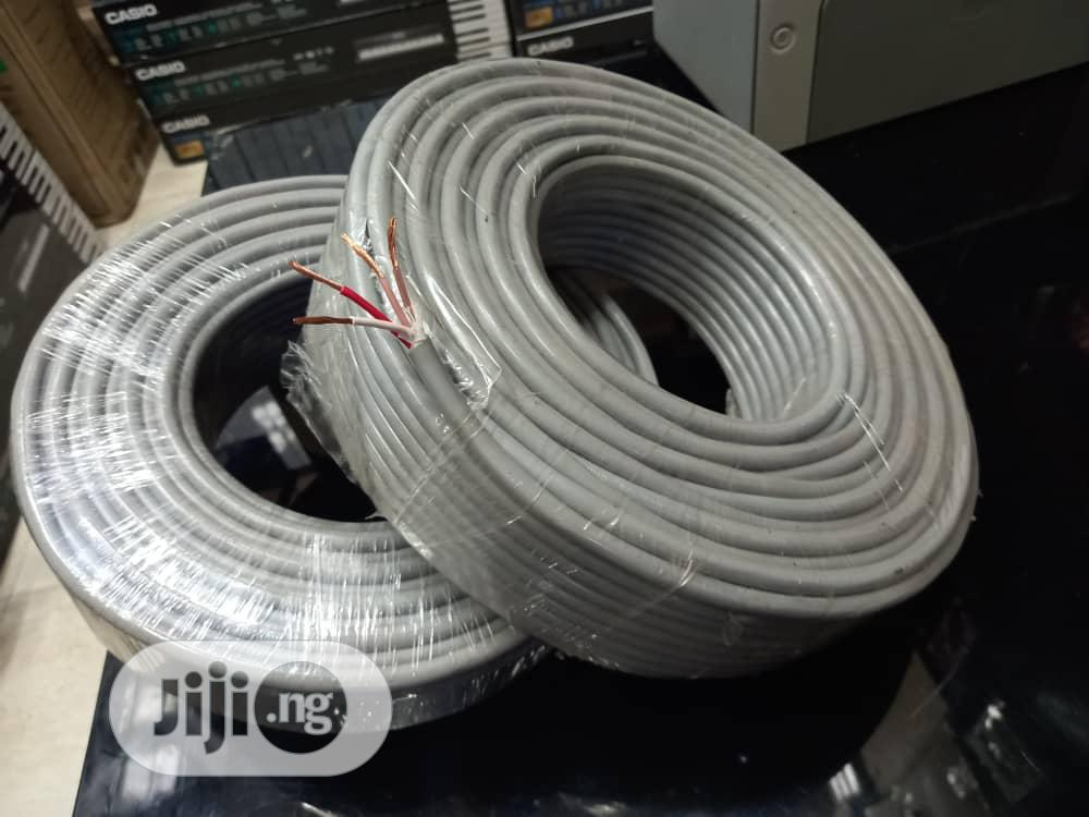 4core 2mm/00mts Speaker Cable
