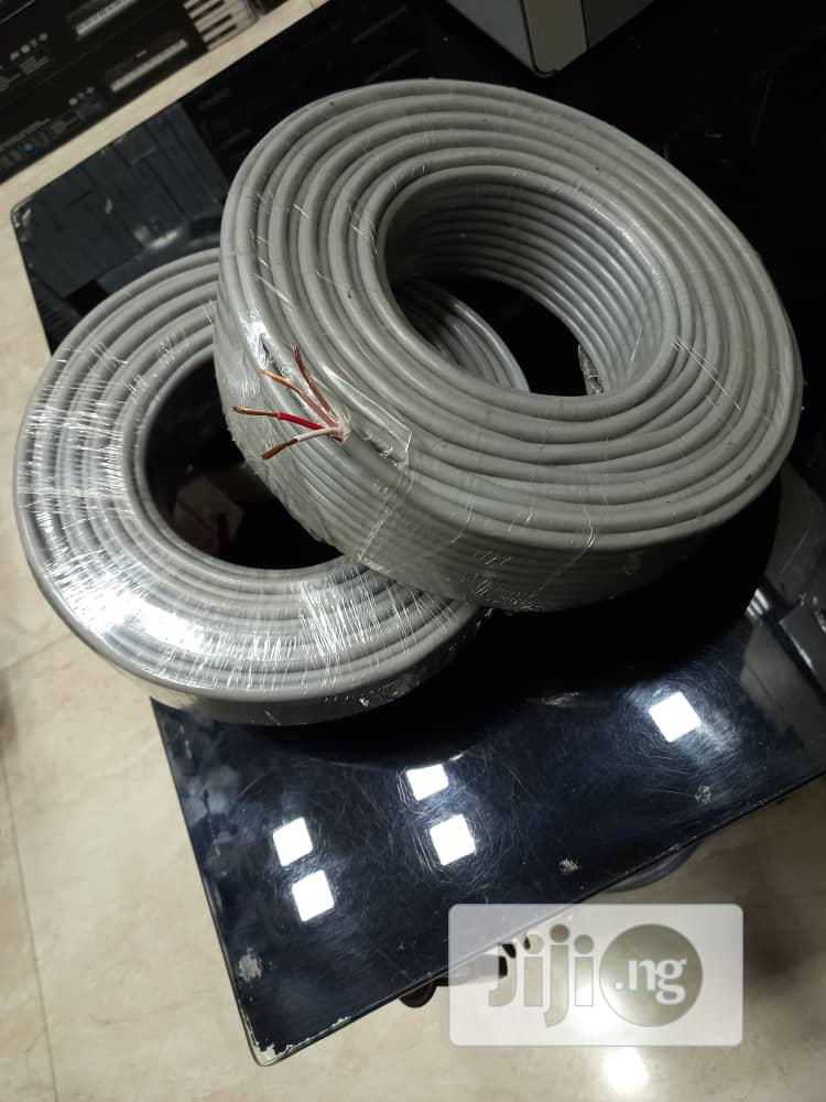 4core 2mm/00mts Speaker Cable   Accessories & Supplies for Electronics for sale in Ojo, Lagos State, Nigeria