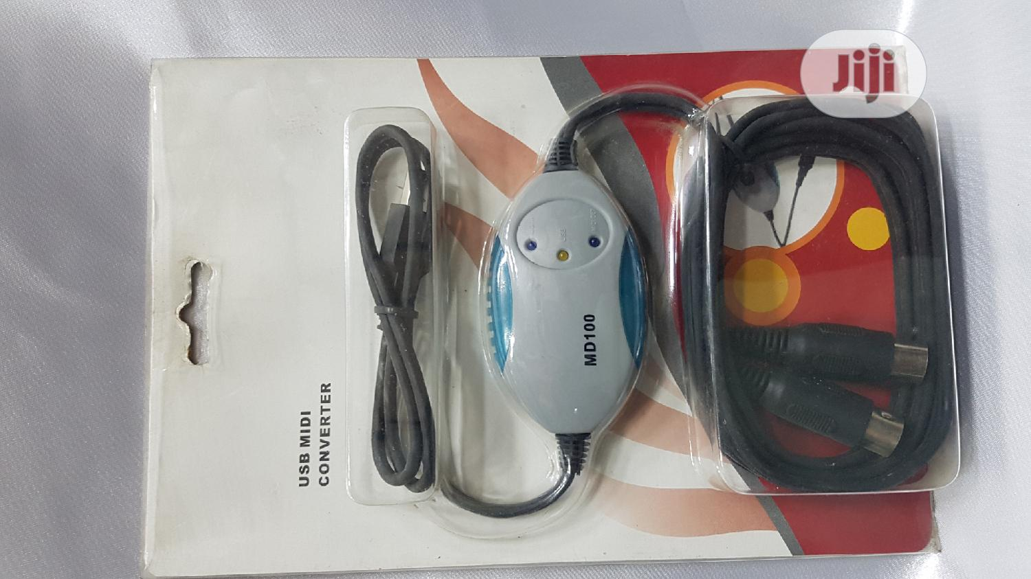 Soundking USB Midi Converter Md100 | Accessories & Supplies for Electronics for sale in Ojo, Lagos State, Nigeria