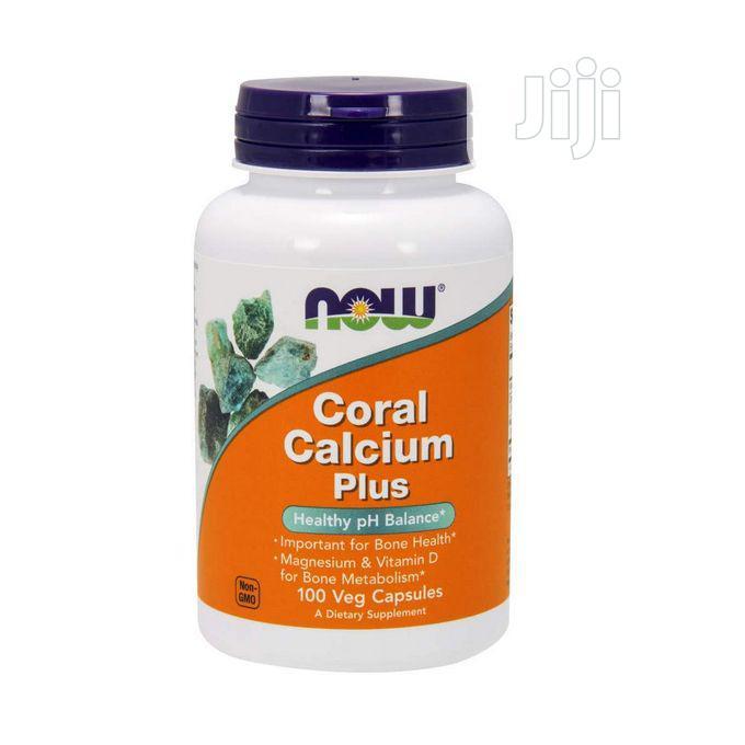 Now Foods Coral Calcium Plus Bone Health PH Balance 100 Caps