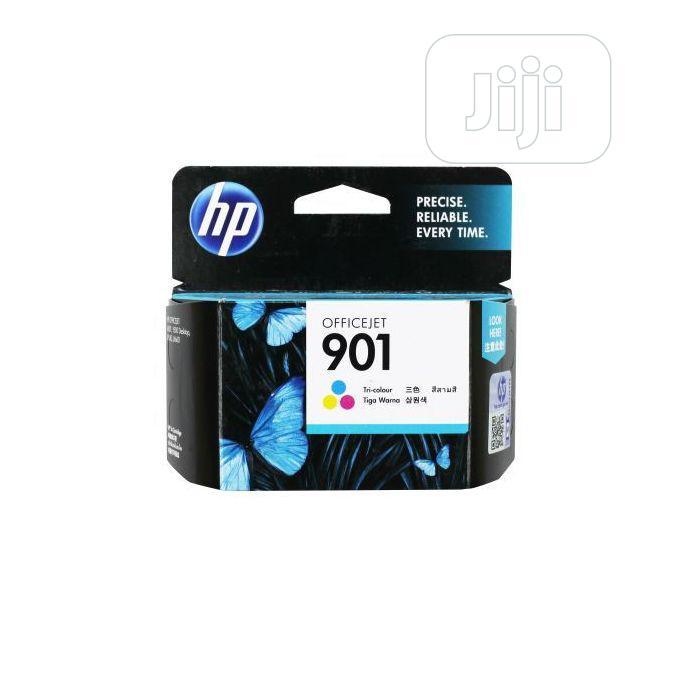 HP Ink Cartridge 901 Tri-color Original -a11