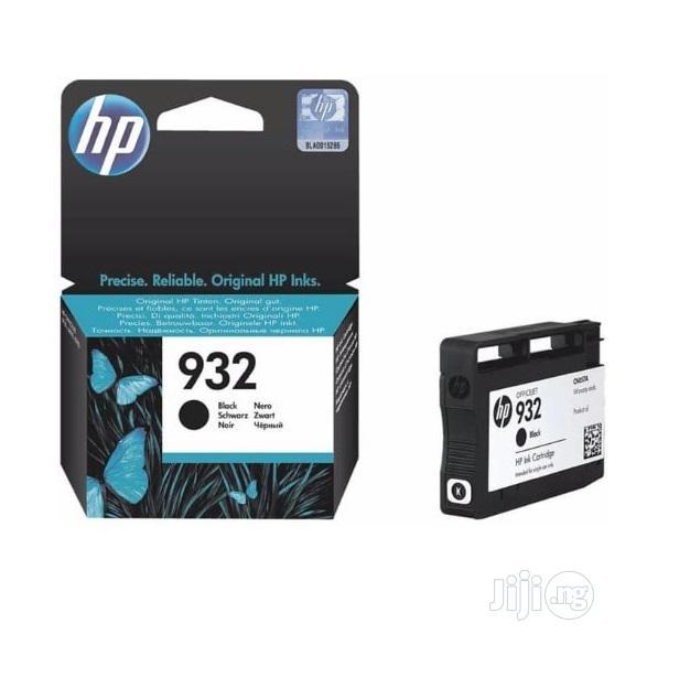 HP Ink Cartridge 932 Black Original -a11