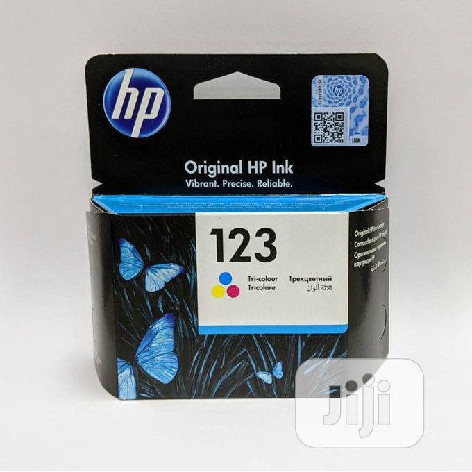 HP Ink Cartridge Black Original 123 -A11