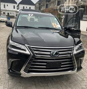 Lexus LX 2017 570 Base Black | Cars for sale in Lagos State, Surulere