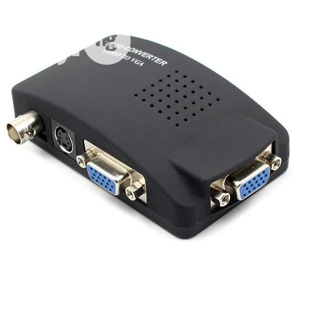BNC To VGA Video Converter Black - A11