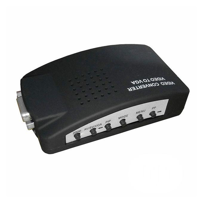 BNC To VGA Video Converter Black - A11 | Accessories & Supplies for Electronics for sale in Alimosho, Lagos State, Nigeria