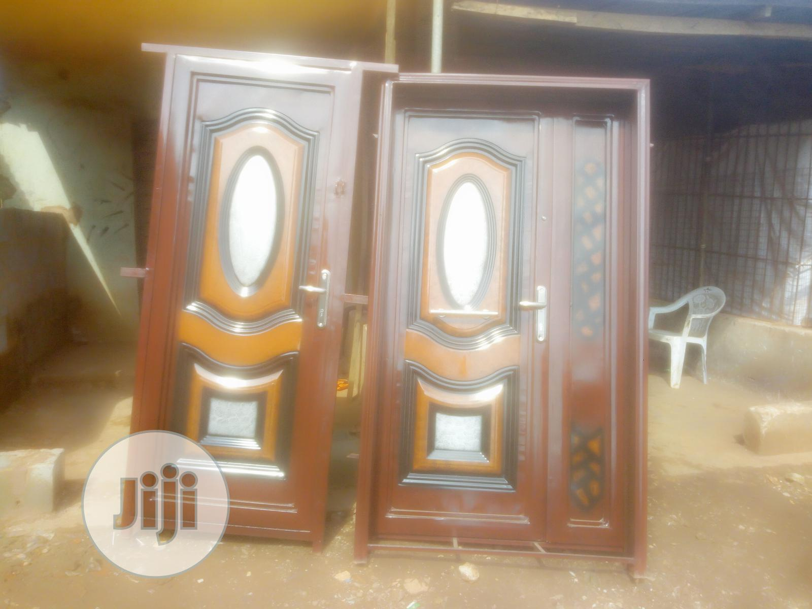 Metal Steel Iron Doors And Gates Of High Durable Quality. | Doors for sale in Ikorodu, Lagos State, Nigeria