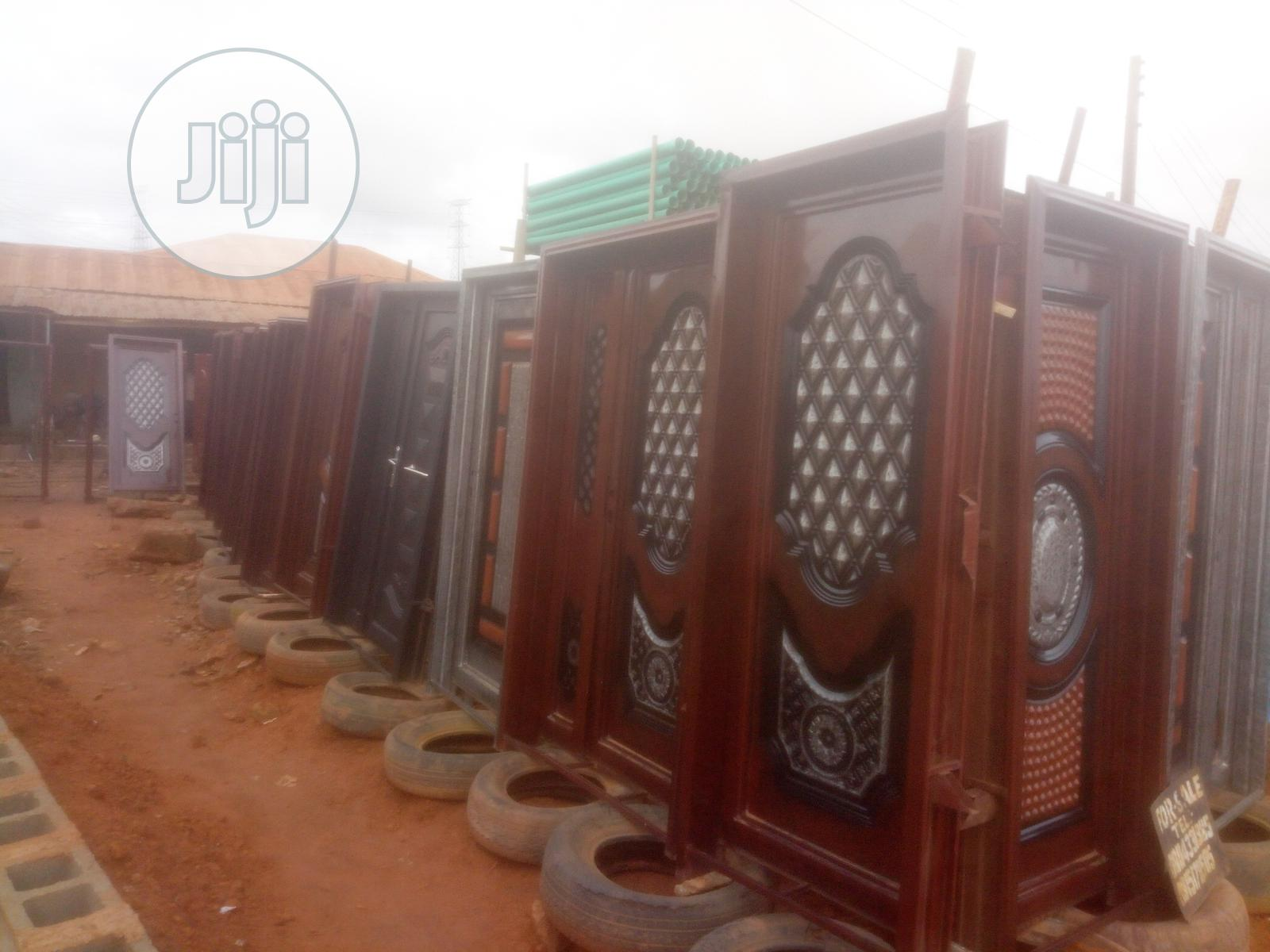 Steel Iron Doors & Gates Constructions Of High Quality | Doors for sale in Ikorodu, Lagos State, Nigeria