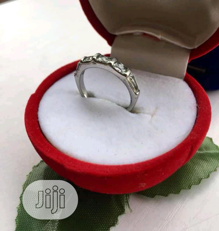Archive: Silver Engagement Ring