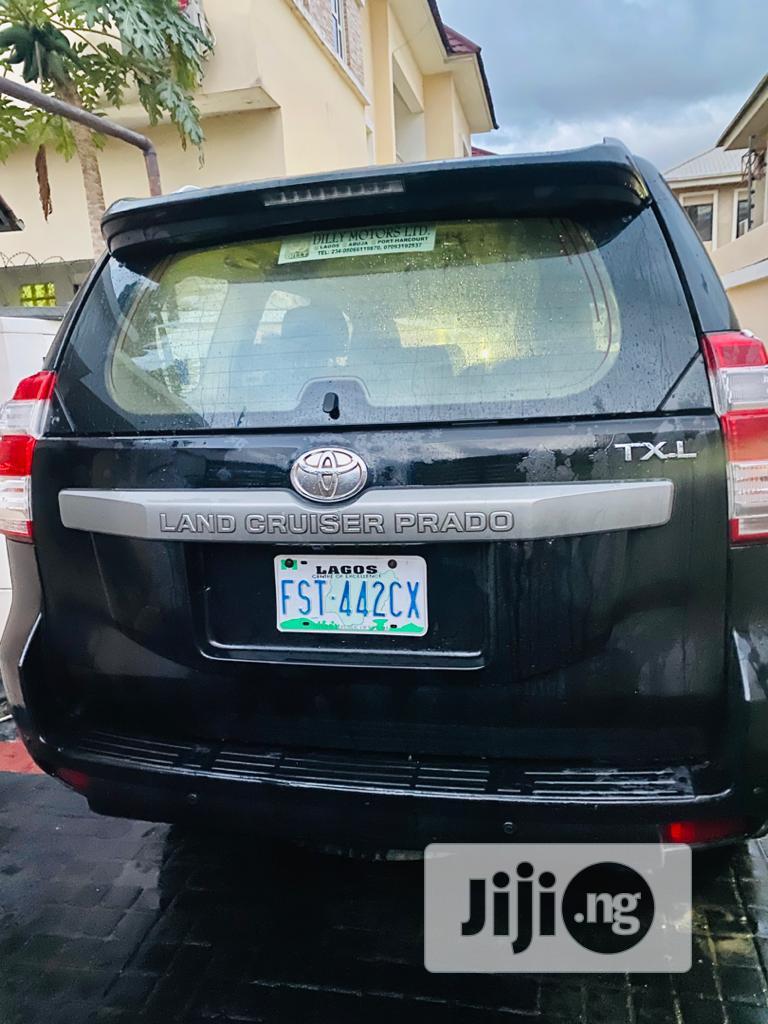 Toyota Land Cruiser Prado 2013 Black | Cars for sale in Ajah, Lagos State, Nigeria