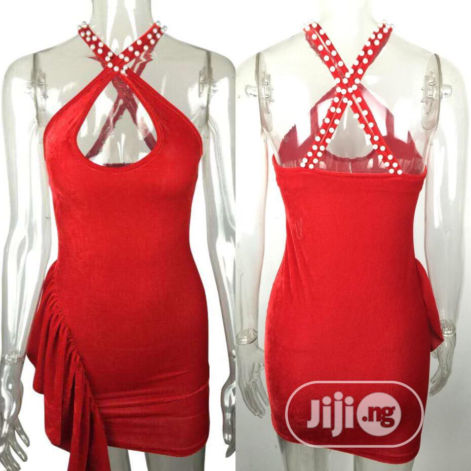 Archive: Hot Party Red Mini Dress