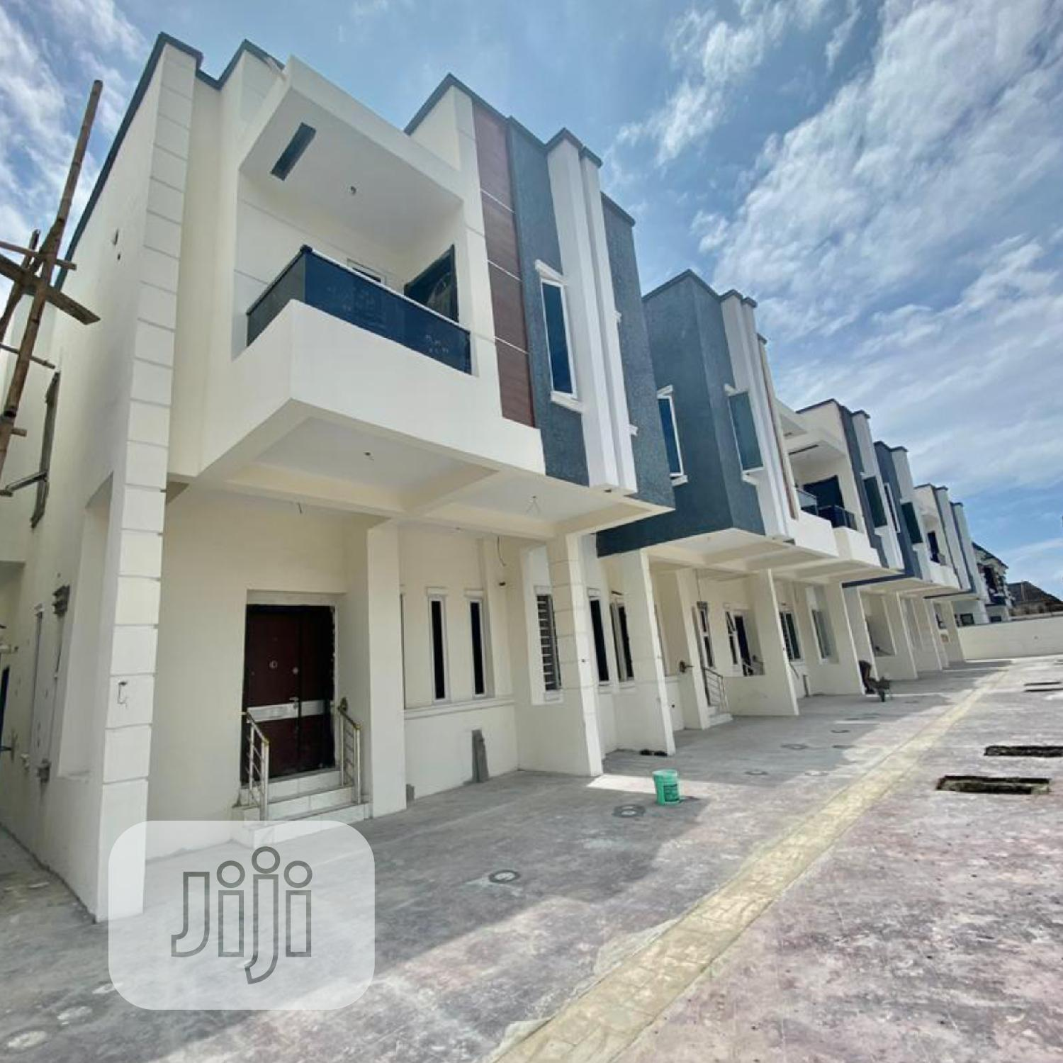 4 Bedroom Terrace Duplex By The 2nd Toll Gate,Lekki Phase 2