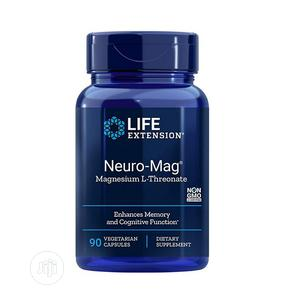 Life Extension Neuro-Mag,Magnesium L-Threonate 90cap(Memory | Vitamins & Supplements for sale in Lagos State, Amuwo-Odofin