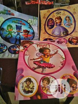Cake Stickers And All Types Of Balloons And Party Loot Packs | Babies & Kids Accessories for sale in Oyo State, Ibadan