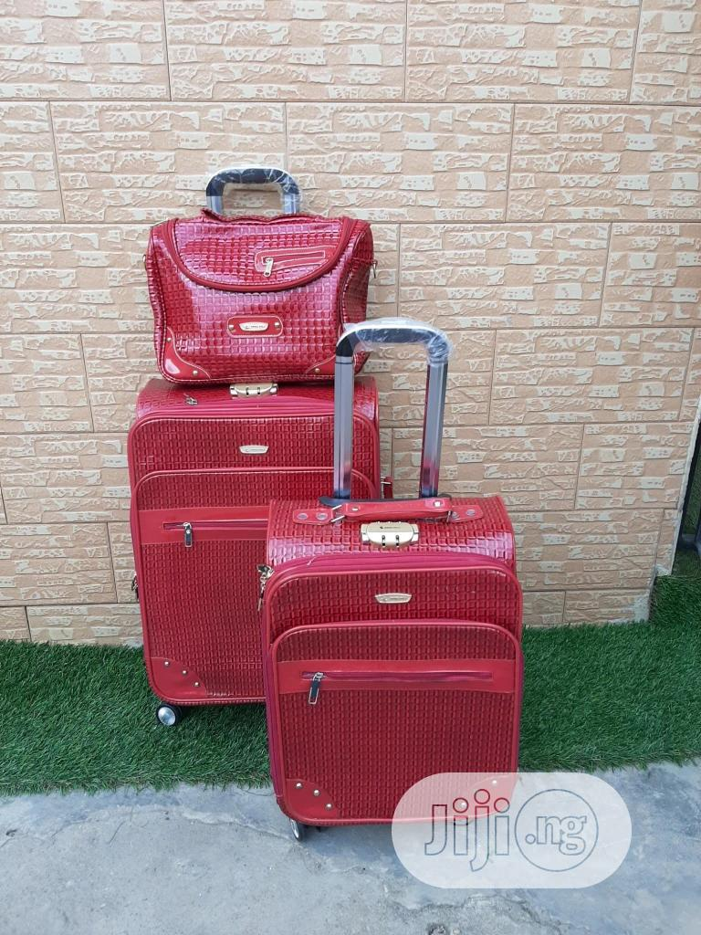 Frosh Material Trolley Travel Bags (3 Sets)