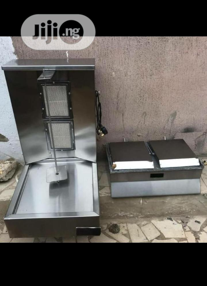 Archive: Gas Shawarma Machine And Toaster