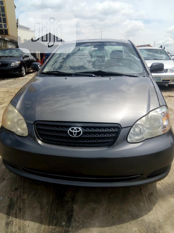 Toyota Corolla 2006 CE Gray