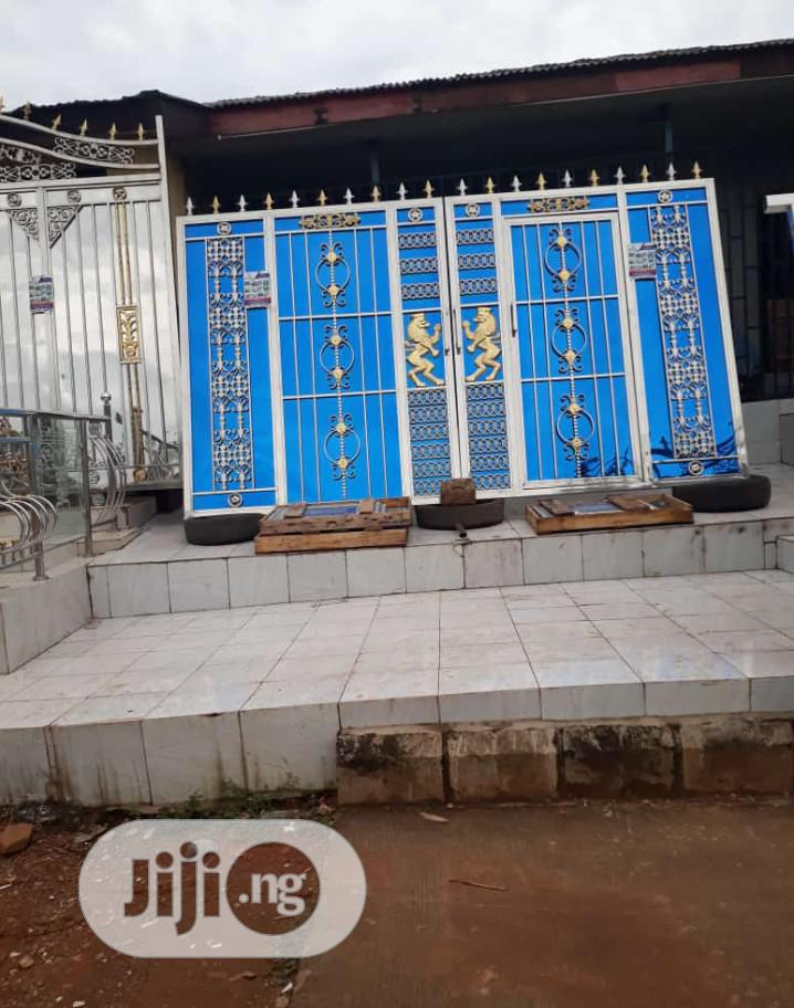Archive: Stainless Steel Front Gate