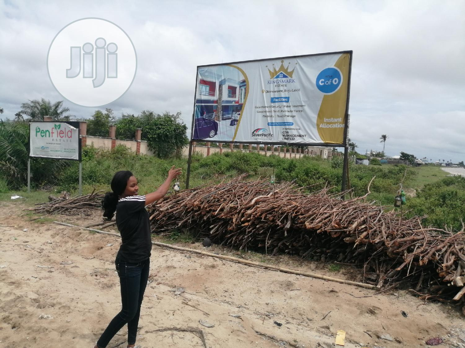 Plot Of Land With C Of O At Ibeju Lekki | Land & Plots For Sale for sale in Sangotedo, Ajah, Nigeria