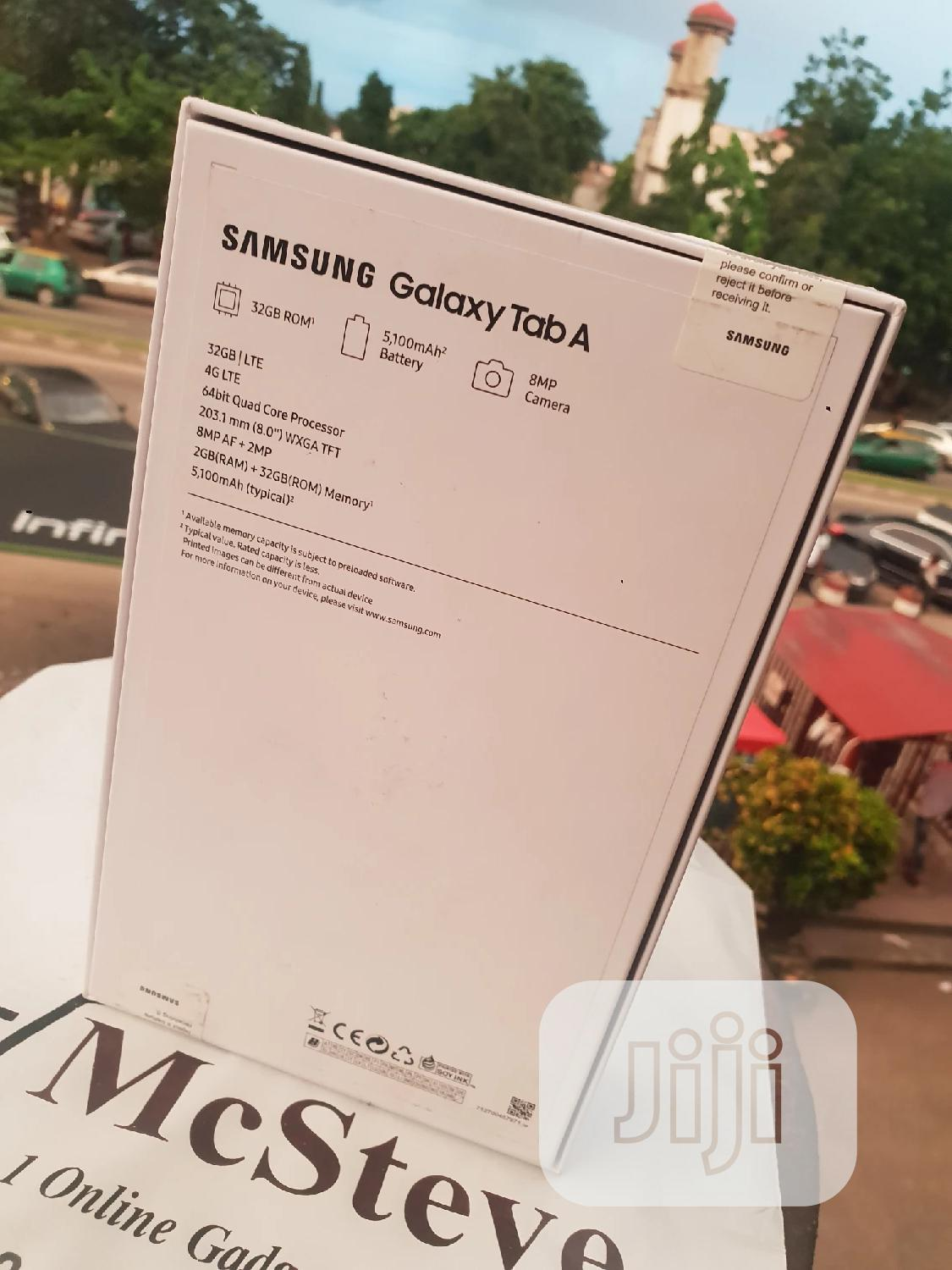 New Samsung Galaxy Tab A 8.0 (2019) 32 GB Silver | Tablets for sale in Wuse 2, Abuja (FCT) State, Nigeria