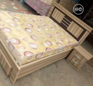 4 by 6 Bed Frame With Quality Mattress   Furniture for sale in Lagos State, Ojo
