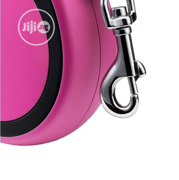 Flexi New Comfort Retractable Tape Dog Leash Pink 26 Foot | Pet's Accessories for sale in Amuwo-Odofin, Lagos State, Nigeria
