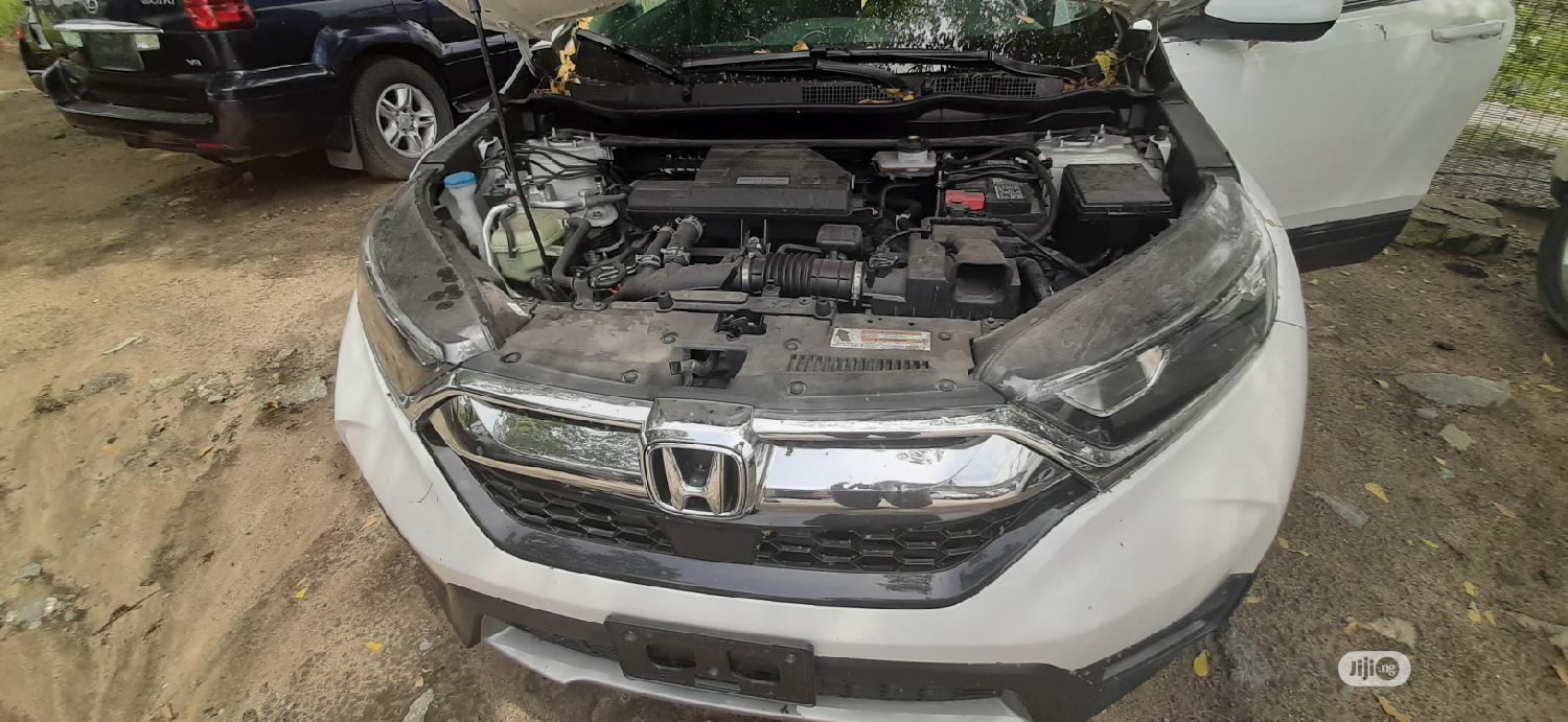 Honda CR-V 2019 Touring AWD White | Cars for sale in Ajah, Lagos State, Nigeria