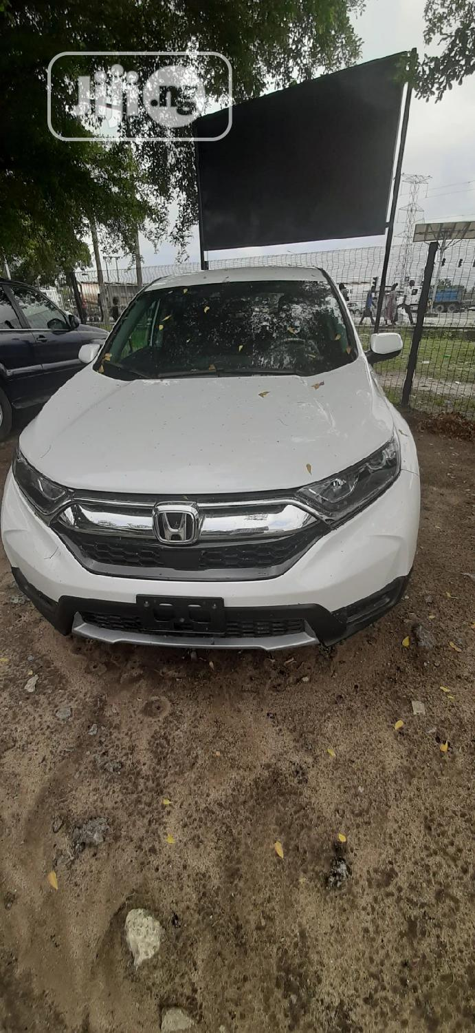 Honda CR-V 2019 Touring AWD White