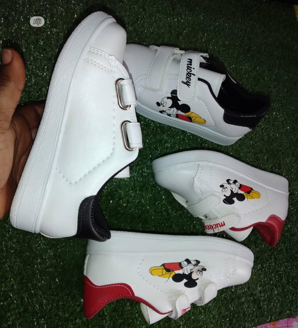 Turkey Mickey Mouse Canvass | Children's Shoes for sale in Ado-Odo/Ota, Ogun State, Nigeria