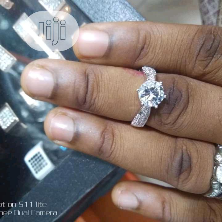 Archive: Sterling Silver Engagement Ring
