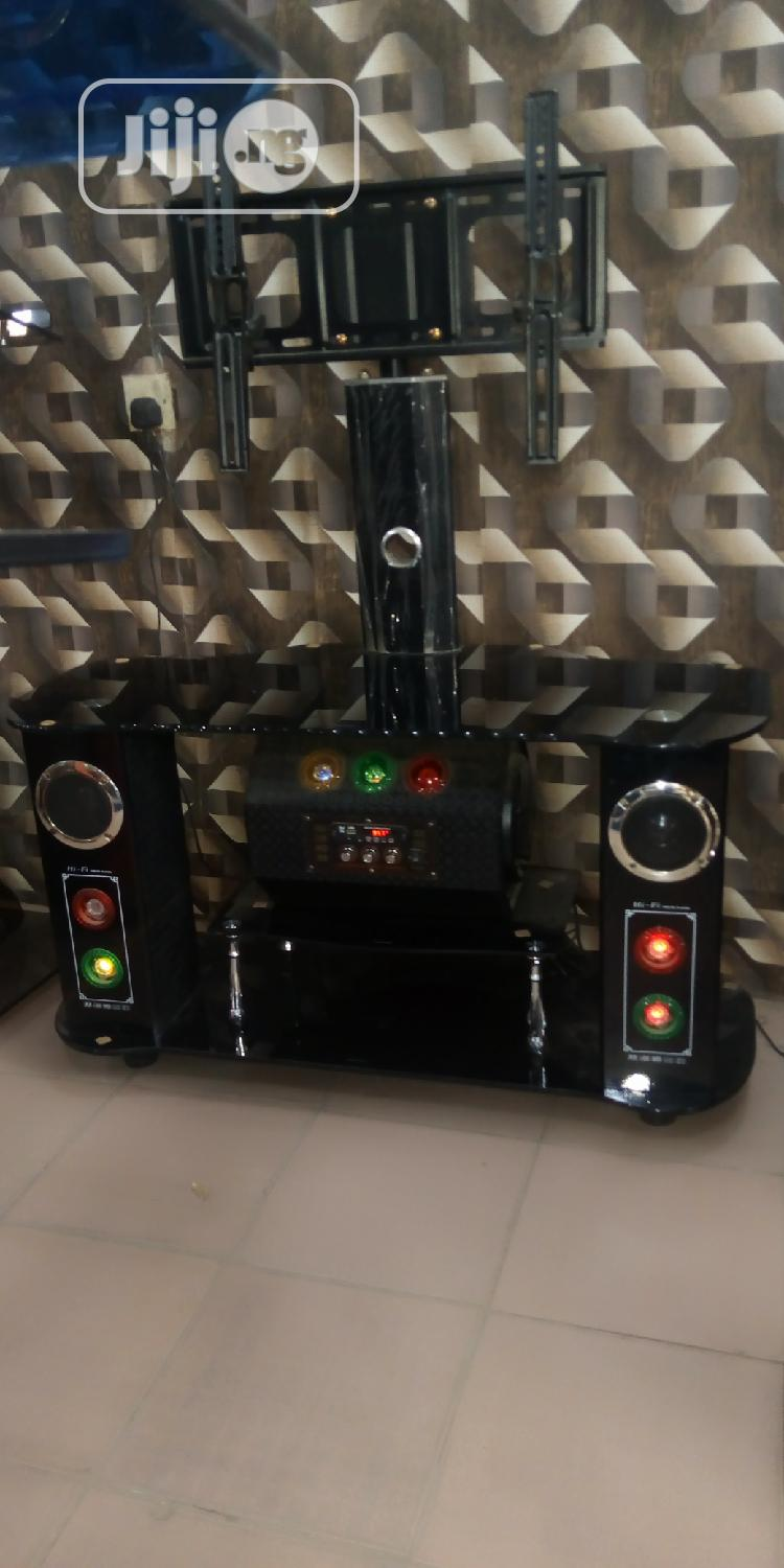 Tv Stand With Light And Radio