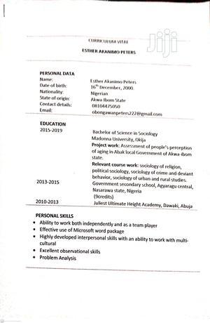 Housekeeping & Cleaning CV | Housekeeping & Cleaning CVs for sale in Akwa Ibom State, Ikot Abasi