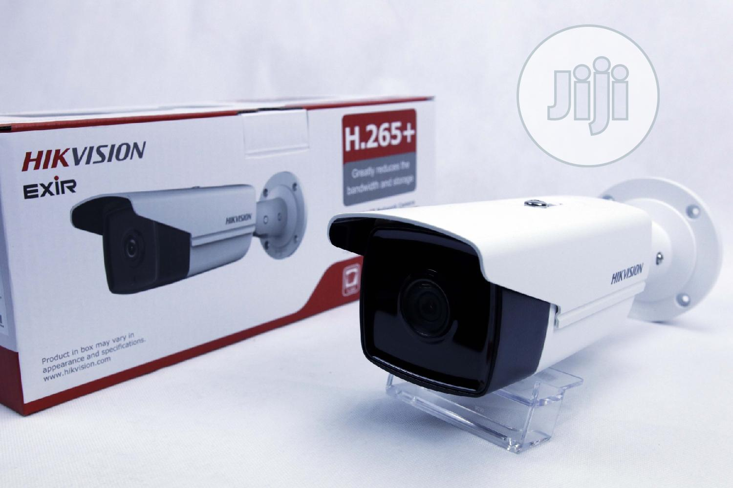IP Camera Ds-2cd2t43g0-i8 6mm Hikvision 4mpx Ir80m | Security & Surveillance for sale in Ikeja, Lagos State, Nigeria