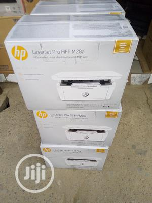 HP Laserjet PRO MFP M28A All-in-one Printer   Printers & Scanners for sale in Lagos State, Ikeja