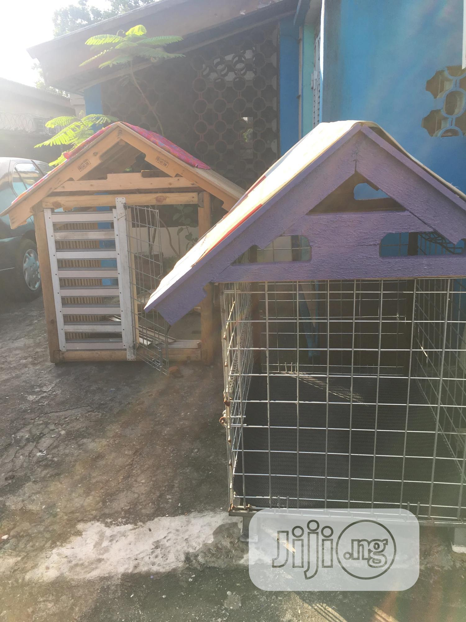 Dog Kennel House Cage   Pet's Accessories for sale in Surulere, Lagos State, Nigeria
