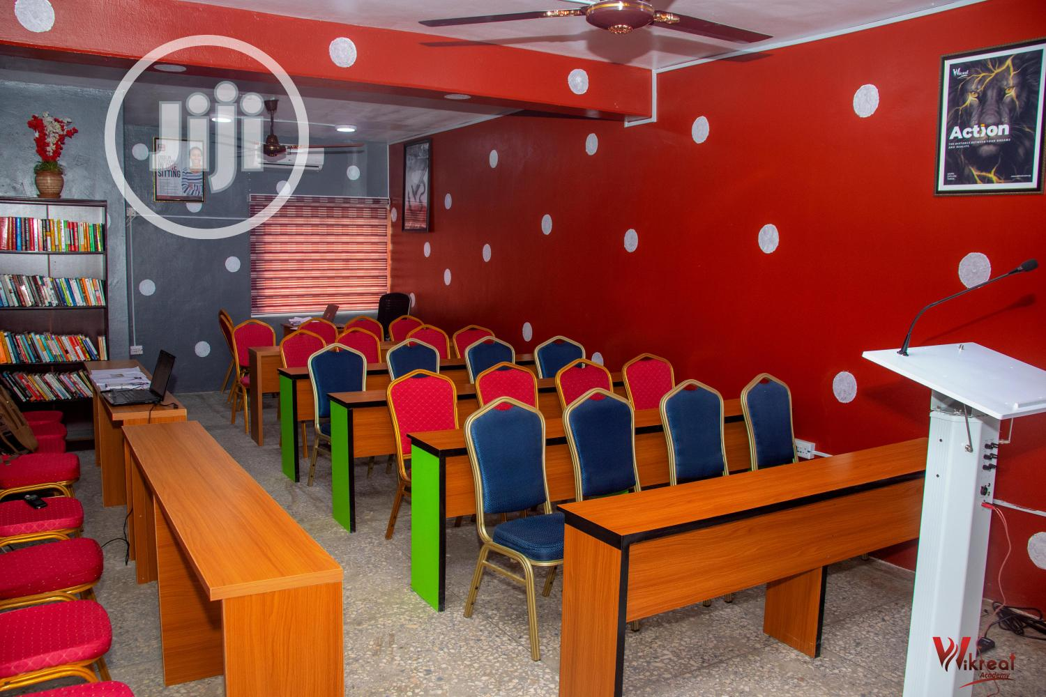 Archive: Office Space, Training Centre, Event Hall for Short Let