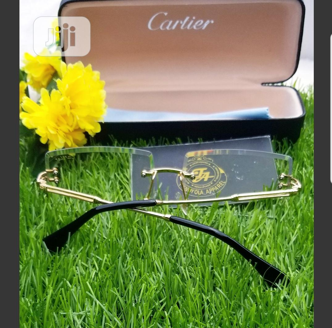 Extra Clear Cartier Glasses | Clothing Accessories for sale in Ajah, Lagos State, Nigeria