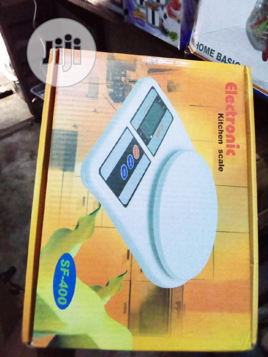 Archive: Electronic Kitchen Scale SF-400