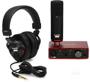 Focusrite Scarlett Solo Studio Pack 3rd Gen   Audio & Music Equipment for sale in Lagos State, Ikeja