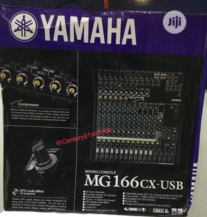 Yamaha MG166CX-USB 16-channel USB Mixer   Audio & Music Equipment for sale in Abuja (FCT) State, Dei-Dei
